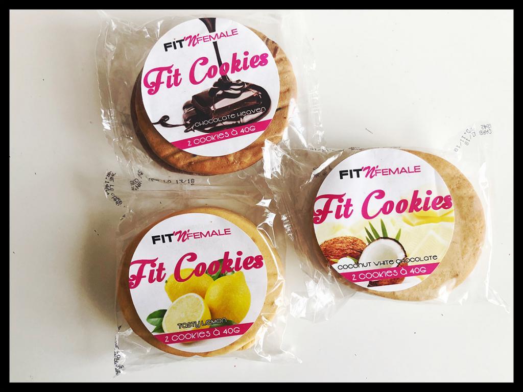 Fitness Cookies Kekse von Fit'n'Female