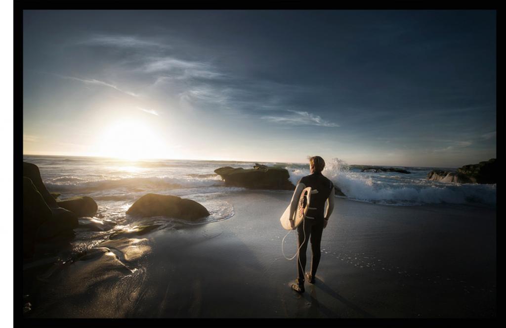 surfen mit springsuit